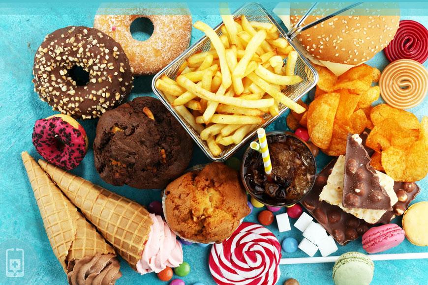 Alimentos ultraprocessados - Junk Food