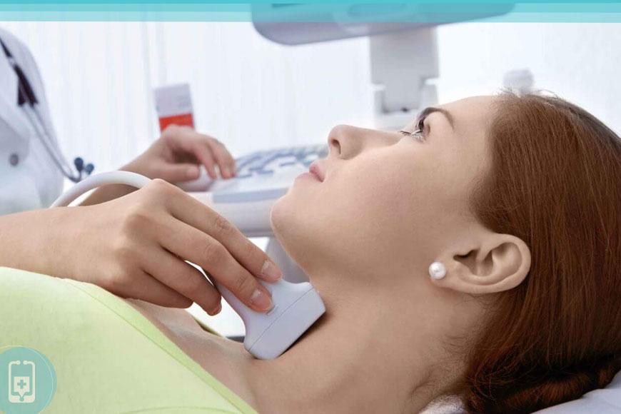 Exames de tireoide - Ultrassom