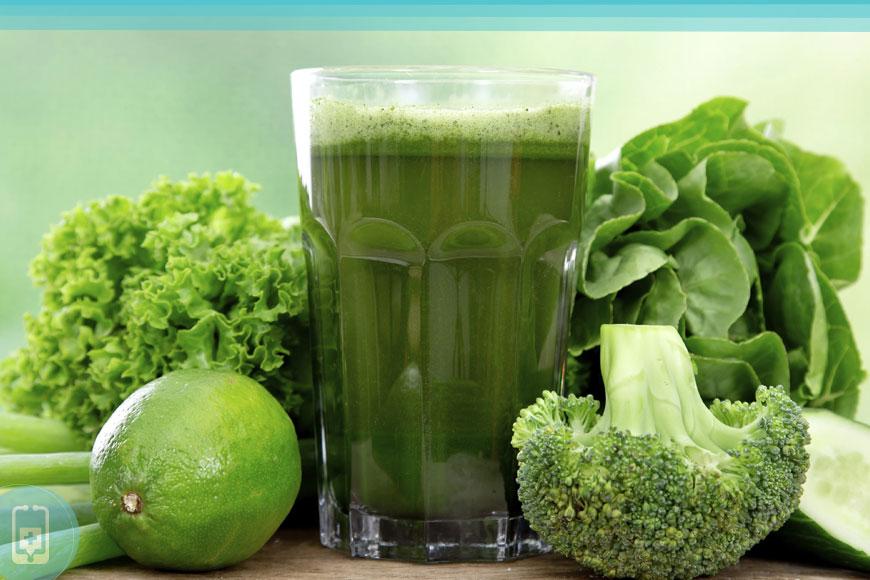 Limpeza do fígado - Tome suco verde