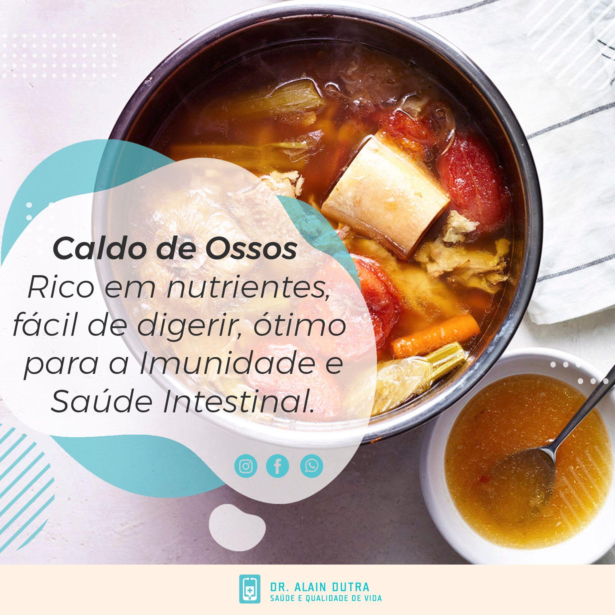 Caldo de Ossos - Rico em Nutrientes