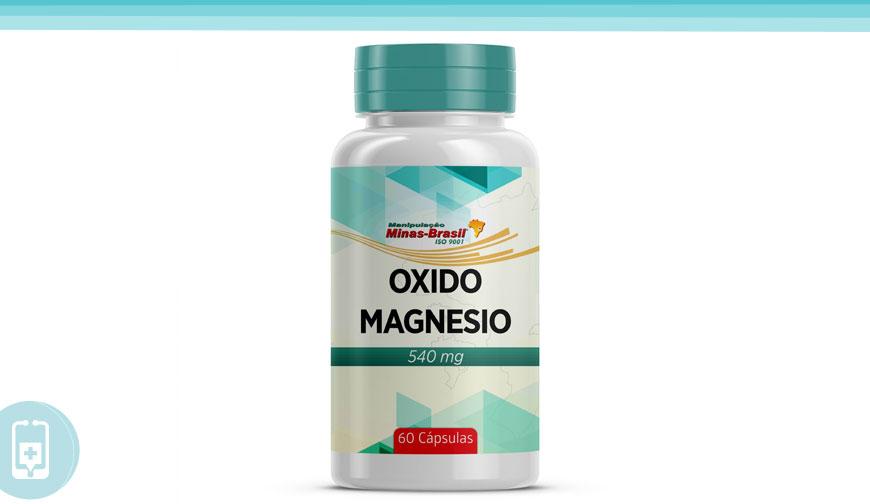 Óxido de magnésio