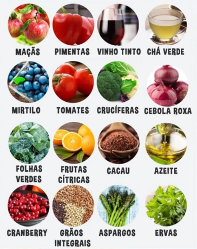 Alimentos Ricos em Quercetina
